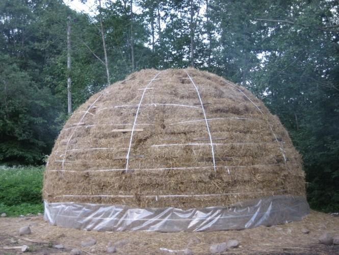 Стратодезический купольный дом 22